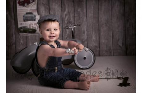 children's photographer glasgowbaby boy with spanner