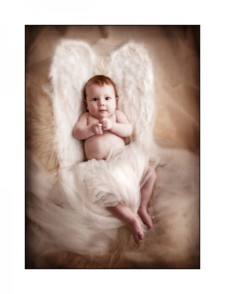 Baby photography glasgow angel baby