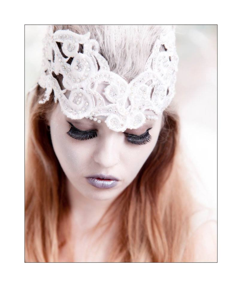 Photographer Glasgow Snow queen style makeup