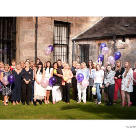 lots of women at the Italian club in Greenock for benefit day out